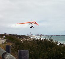 Hang Glider 5  - 14 10 12 by Robert Phillips