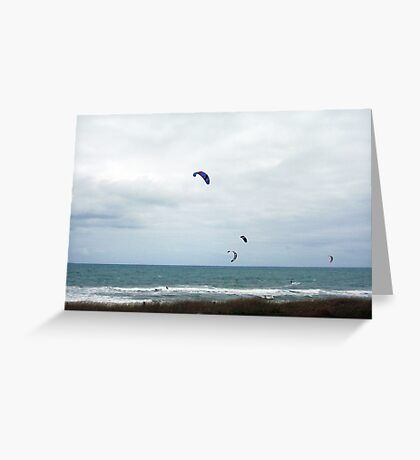 Hang Gliders 01  - 14 10 12 Greeting Card