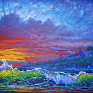 Misty Sunset by jyruff