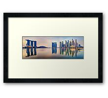 Hot In The City - Singapore Framed Print