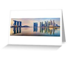 Hot In The City - Singapore Greeting Card