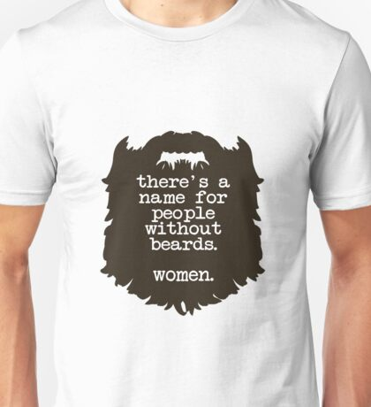 Beard Insult Unisex T-Shirt