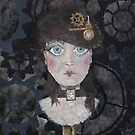 Steampunk Painting by CrossEyedMorgan