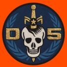 Danger 5 Emblem (Gigantic) by Danger Store