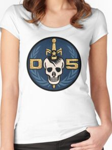 Danger 5 Emblem (Gigantic) Women's Fitted Scoop T-Shirt