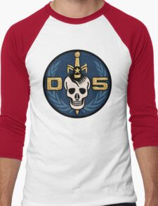Danger 5 Emblem (Gigantic) Men's Baseball ¾ T-Shirt