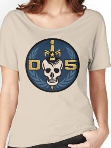 Danger 5 Emblem (Gigantic) Women's Relaxed Fit T-Shirt