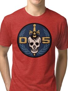 Danger 5 Emblem (Gigantic) Tri-blend T-Shirt