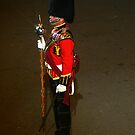 Drum Major - Royal Highland Fusiliers by Colin Shepherd