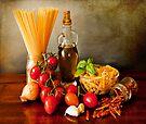 Italian pasta, arrabbiata sauce recipe by Luisa Fumi