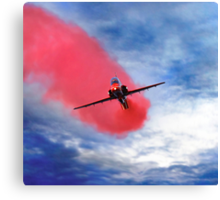 """Red Arrow II"" Canvas Print"