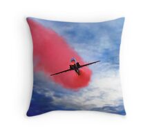 """Red Arrow II"" Throw Pillow"