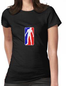 Zombie Apocalypse - NBA Parody  Womens Fitted T-Shirt