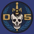 Danger 5 Emblem (Pocket) by Danger Store