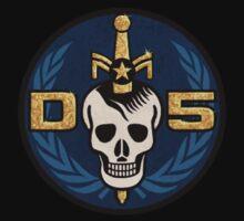 Danger 5 Emblem (Pocket) One Piece - Short Sleeve