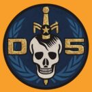 Danger 5 Emblem (Chest) by Danger Store