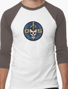 Danger 5 Emblem (Chest) Men's Baseball ¾ T-Shirt