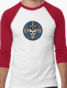 Danger 5 Emblem (Chest) Men's Baseball ¾ T-Shirt