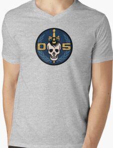 Danger 5 Emblem (Chest) Mens V-Neck T-Shirt
