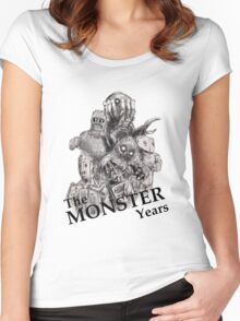 The Monster Years Women's Fitted Scoop T-Shirt
