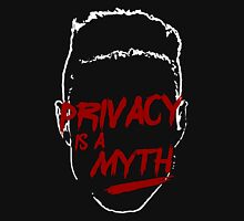 privacy is a myth Mens V-Neck T-Shirt