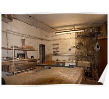 Carpenter Workshop Poster