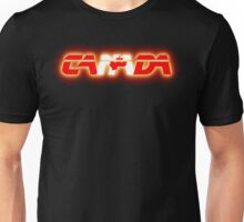 Canada - Flag Logo - Glowing Unisex T-Shirt
