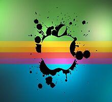 Rainbow Apple by max294