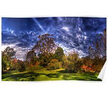 Bisley Gardens II - Mt Wilson NSW Australia - Panaroma  Poster