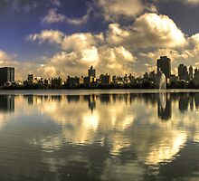 East Side Reflections  by Rob Hawkins