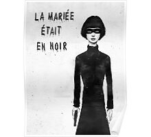 the bride wore black Poster