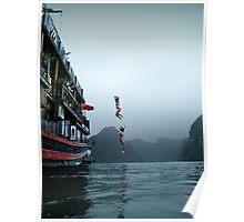 long jump Poster