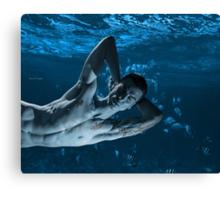Merman Dreams 2 Canvas Print