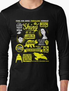 Shiny Quotes Long Sleeve T-Shirt
