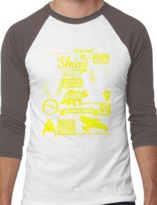 Shiny Quotes Men's Baseball ¾ T-Shirt