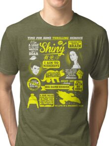 Shiny Quotes Tri-blend T-Shirt