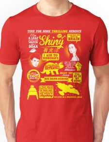 Shiny Quotes Unisex T-Shirt