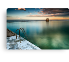 Merewether Pool Canvas Print
