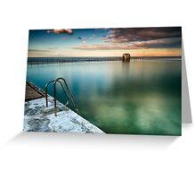 Merewether Pool Greeting Card