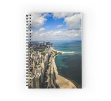 Chicago & Lake Michigan  Spiral Notebook