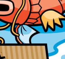 It's Hard Out Here For A Karp Sticker