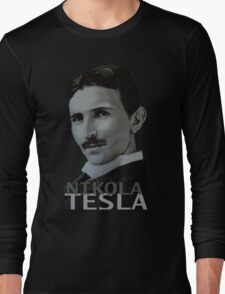 NikolaTesla Long Sleeve T-Shirt
