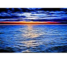 Sunset and the Sea Photographic Print