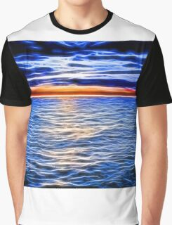 Sunset and the Sea Graphic T-Shirt