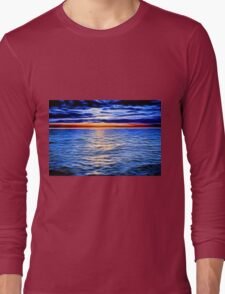 Sunset and the Sea Long Sleeve T-Shirt