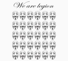 We are legion by Thomas Jarry