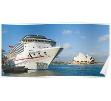 Mighty Big Ship Poster