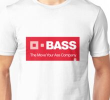 BASS - The Move Your Ass Company Unisex T-Shirt