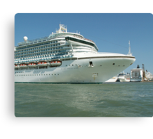 Sea liners Canvas Print