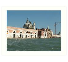 View on Venice  Art Print